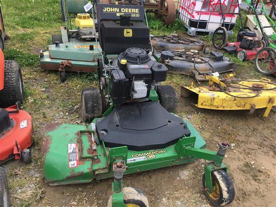 JD G530 Front Cut Mower (Does not Run)