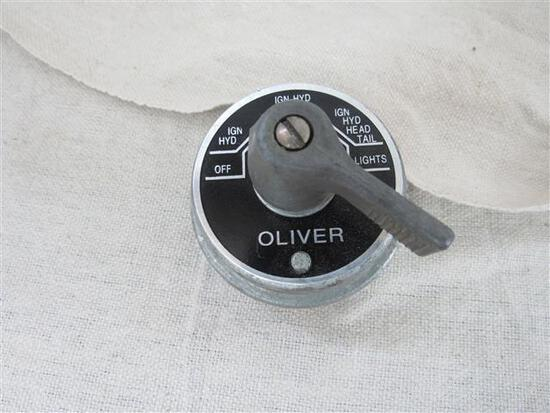 Oliver #K7354A Combination Ignition/Light Switch