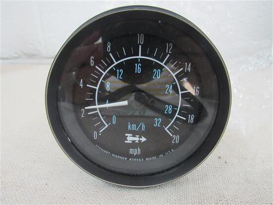 WHITE #30-3213269 Speedometer, New, Original
