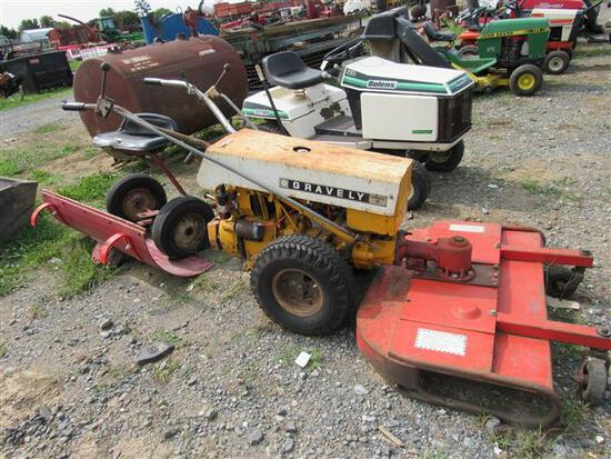 Gravely Mower w/Attachments