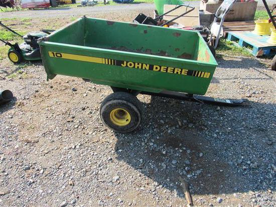 JD 10 Lawn Cart