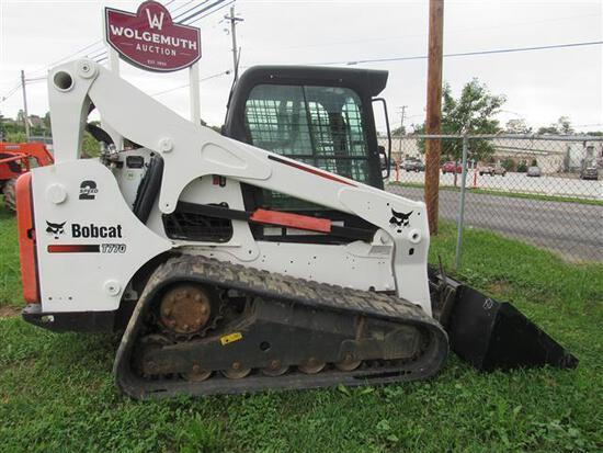 Bobcat T770 2 Spd, EROPS, Hyd QA, Heat, A/C,