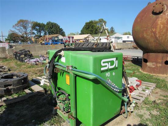 3pt SDI Sprayer Model 15009 10' Boom