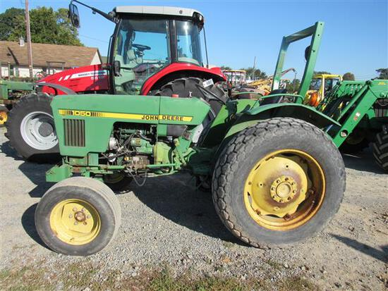 JD 1050 2WD, ROPS, 6662 Hrs