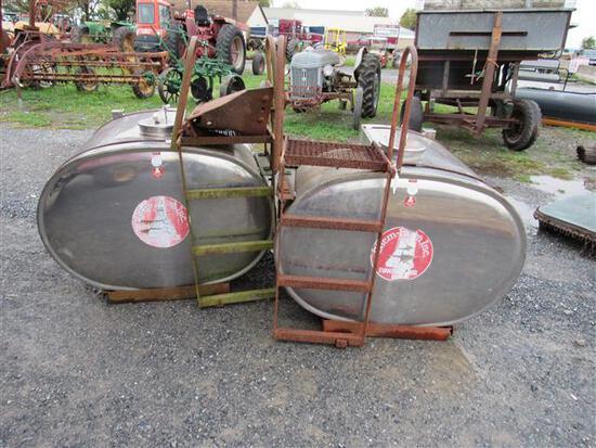 Stainless Steel Saddle Tanks
