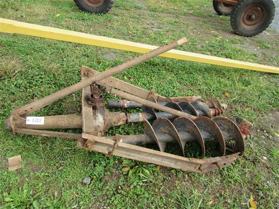 3Pt Post Hole Digger w/Augers