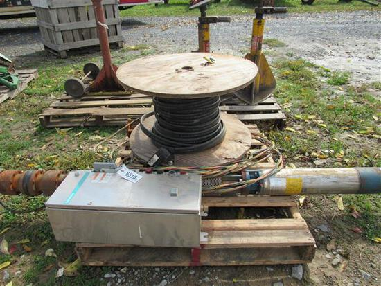 Well Pump Commercial 15 HP w/Elec Box & Wire