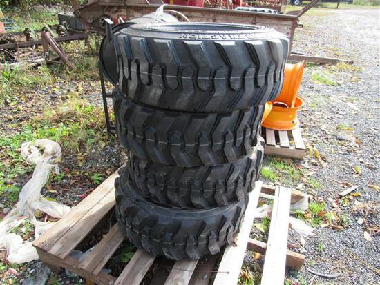 (New) 10-16.5 Skid Steer Tires (set)