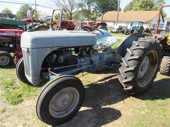 Ford 8N (rebuilt electrical system, tuned up)