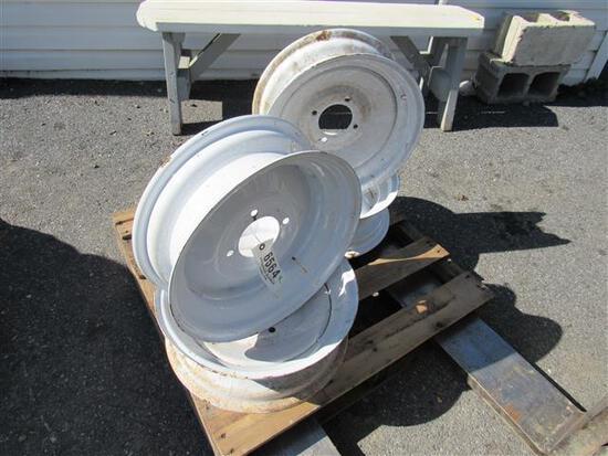"""Ag 4-Lug 15"""" Wheels (set)"""