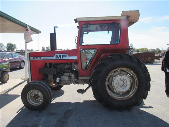 MF 255 Dsl Cab Tractor, 2WD 969 hrs