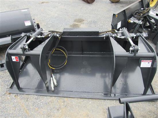 (New) JCT Flat Bottom Grapple Bucket
