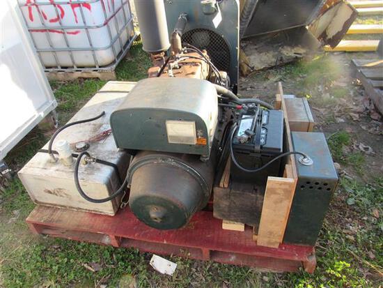 Kohler Elec Plant Water Cooled Generator