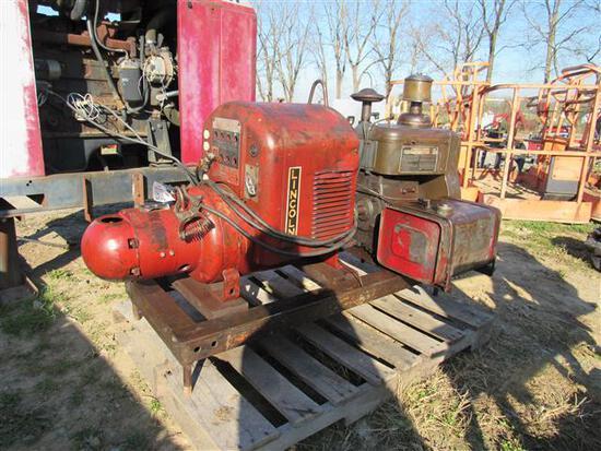 Lincoln Gas Welder