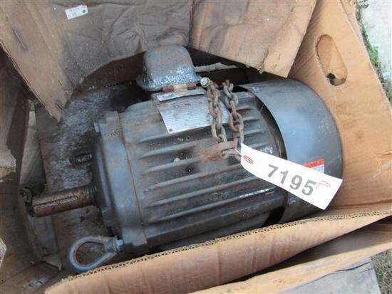 New Emerson 10 HP Elec. Motor