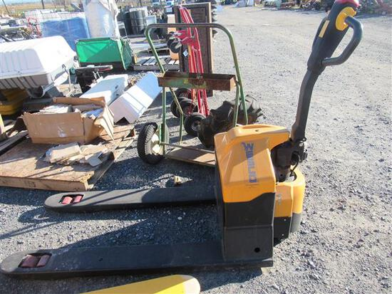 Electric Wesco Pallet Jack, 223 Hrs