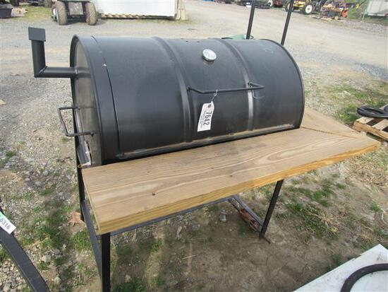 Single Bar Charcoal Grill