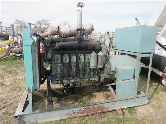 Martin Machinery 40KW 208V Generator w/Detroit Eng