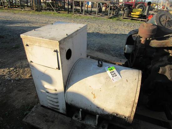 25KW Belt Drive Generator