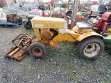 Sears Tractor C37:C52w/ Snowplow (not running)