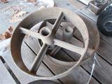 Cast Iron Wheel Set