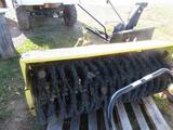 Sweeper for Riding Tractor