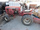 Wheel Horse Raider 12 Lawn Mower w/Snow Plow,