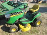 JD D105 Lawn Tractor (runs)