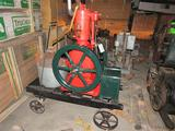 Famous 2 HP Upright Hit & Miss Engine