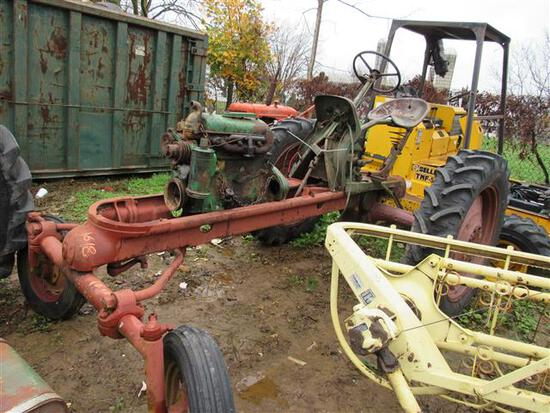 Cockshutt Oliver 360 Tractor w/Parts