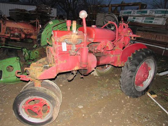 Farmall A Parts Tractor