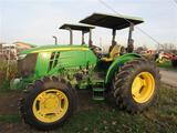 JD 5085E Tractor, 2 post canopy, LHR, 4WD