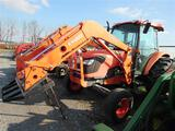 Kubota M8540 Cab Tractor w/ LA 1353 Ldr