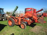 Kubota Tractor Loader Backhoe (not running,
