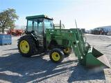 JD 5300 Cab Tractor w/JD 540 Ldr, 2WD, 1721 hrs,