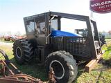 NH TS6.120 w/Forestry Cage, 4WD, LHR, 4933 Hrs,