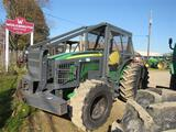 JD 5100M w/Forestry Cage, 4WD, 1748 Hrs, w/Winch