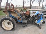 NH T4030 Tractor (fire damage)