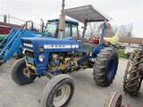 Ford 3400 Tractor 2WD, 2 Post Canopy