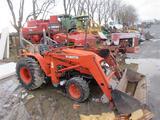Kubota B20 Tractor w/Loader (doesn't start)