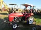 Nortrack 4WD Dsl Tractor, ROPS, Power Steering