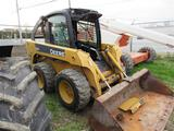 JD 320 Skidsteer, C/A/H, 5700 Hrs, Ride & Drive,