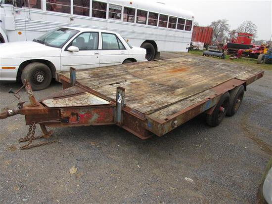 Farm Trailer - Pull Behind, Double Axle (No Title)