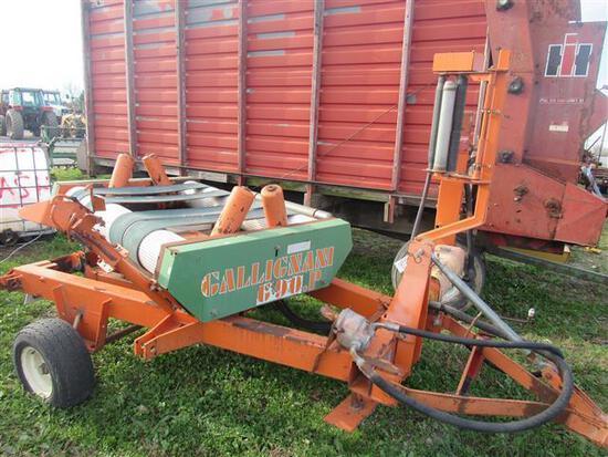 Gallignani 690P G90 Round Bale Wrapper