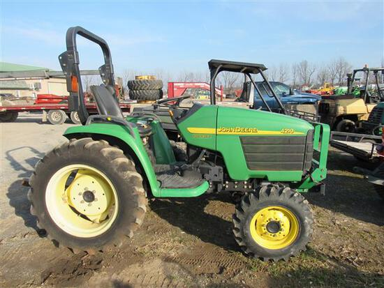 JD 4210 4WD Tractor