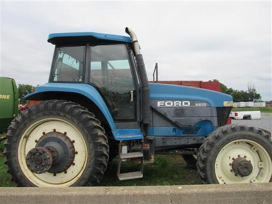 NH 8870 4x4, Super Steer, C/A/H, PS Trans,8269 Hrs