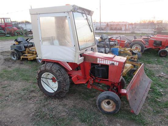 Case Riding Tractor w/Snow Plow