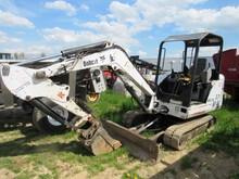 Bobcat 331 Track Excavator, 4376 Hrs, Smokes