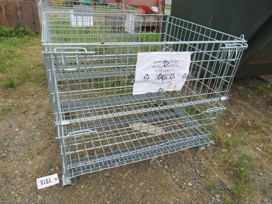"""Steel Shipping Cage 38""""x31""""x32"""""""