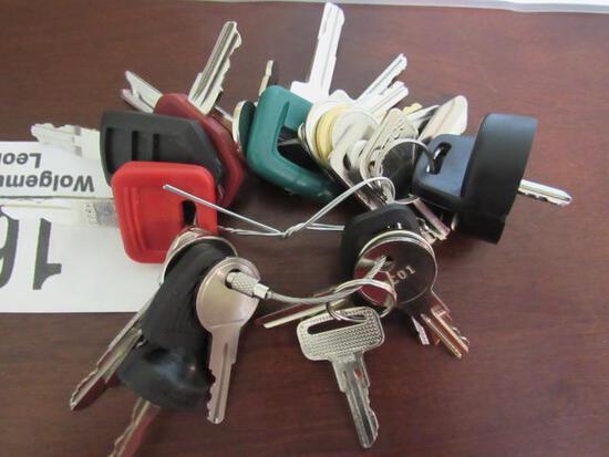 Heavy Equipment Key Set w/24 Keys